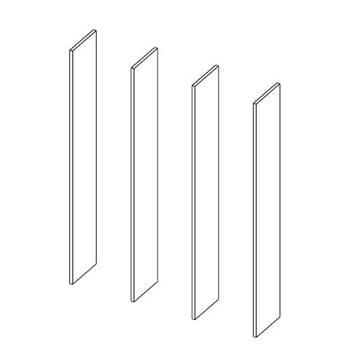 Immagine di Libreria 3 Vani: Disegna in libertà cominciando da quattro montanti
