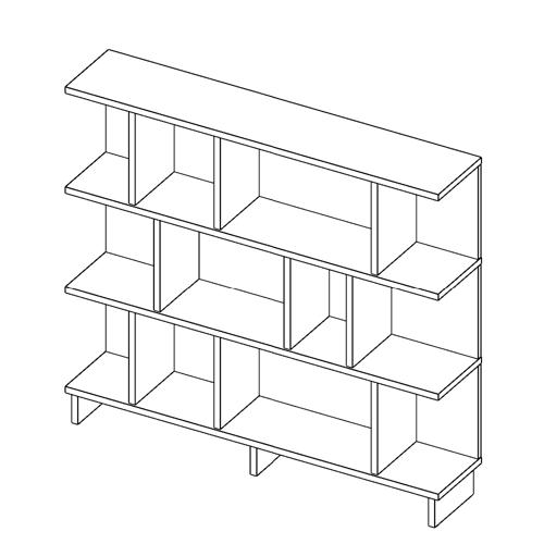 Immagine di Libreria P.O. 4 piani