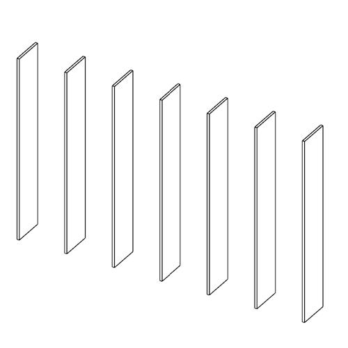 Immagine di Libreria 6 Vani: Disegna in libertà cominciando da sette montanti